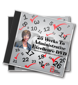 26_Weeks_To_Administrative_Excellence_DVD_For_Administrative_Professionals