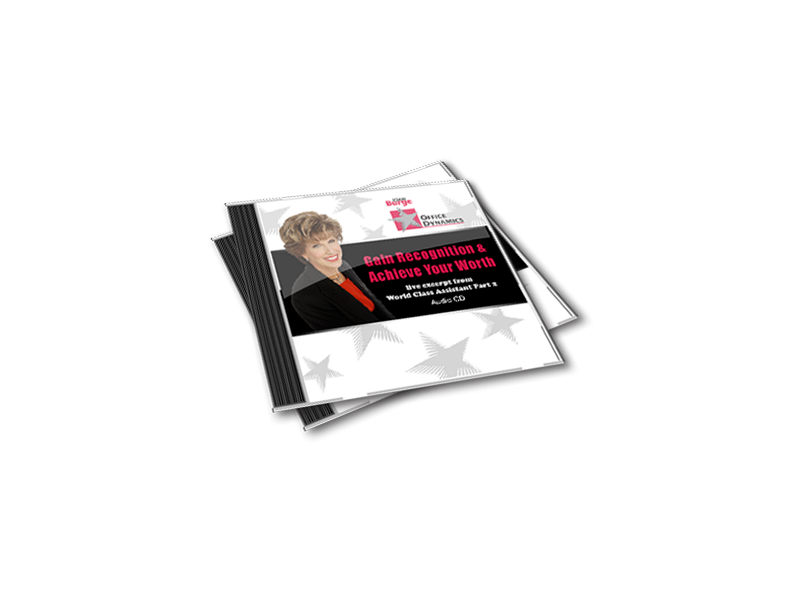 Gain_Recognition_And_Achieve_Your_Worth_CD_For_Administrative_Assistants