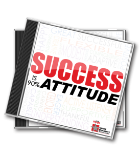 Success_Is_90_Percent_Attitude_CD_For_Administrative_Assistants