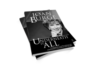Underneath It All Book by Joan Burge