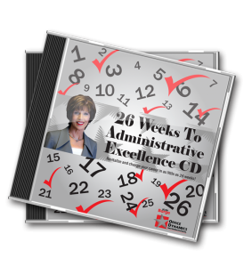 26_Weeks_To_Administrative_Excellence_CD_For_Administrative_Professionals