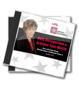 Gain_Recognition_And_Achive_Your_Worth_CD_For_Administrative_Professionals