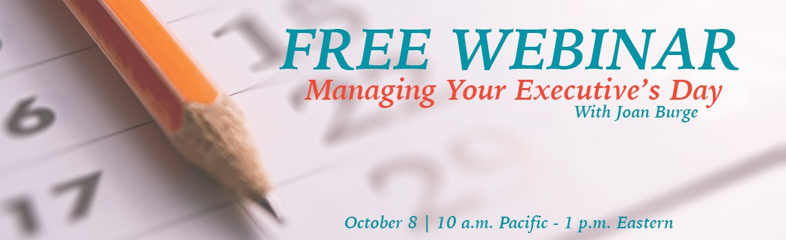 Managing Your Executive S Day Free Webinar Office Dynamics