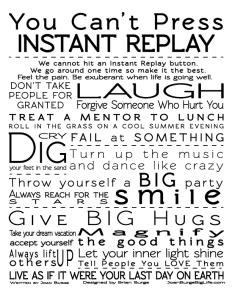 instant replay manifesto