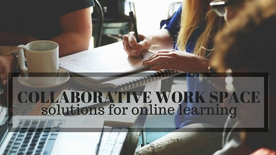 solutions for online learning in a collaborative work space