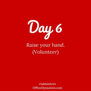 Volunteer to Grow Your Admin Career Skills