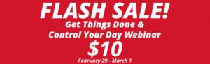 leap into action flash sale