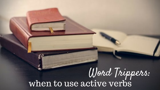 why use active verbs instead of passive
