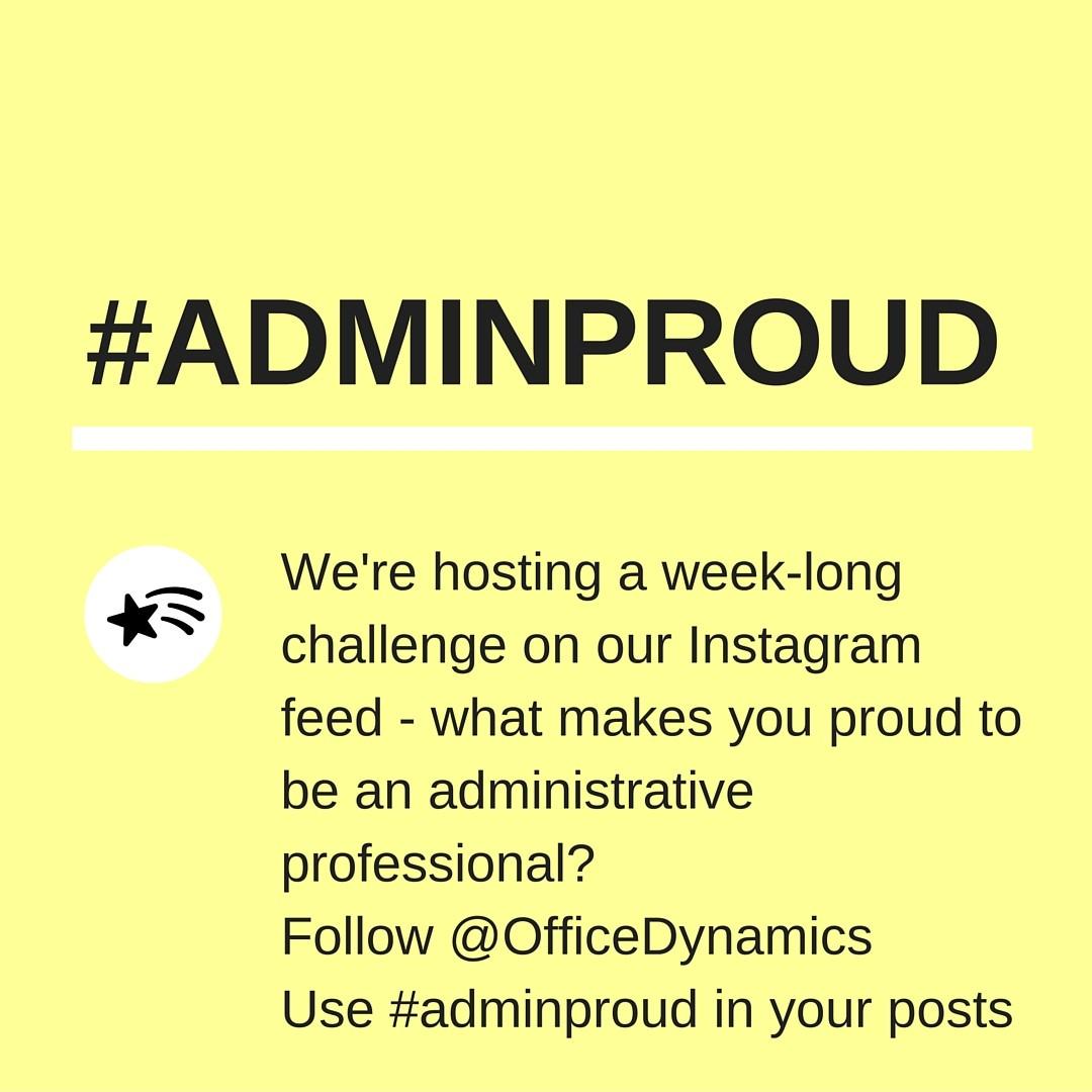 #adminproud admin challenge