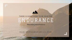 workplace endurance