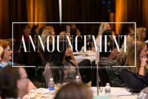 administrative conference scholarship award