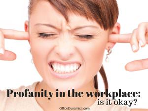 is-swearing-at-work-offensive