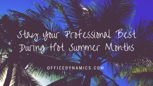 stay your professional best
