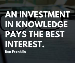invest in your professional development