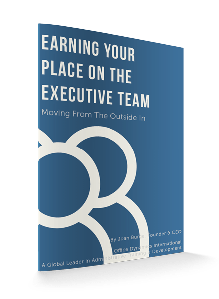 Earning Your Place On The Executive Team eBook