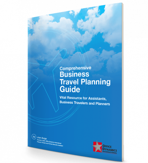 Travel Guide Ebook for Executive Assistants