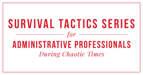 Survival-Tactics-Series for assistants