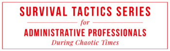 Survival-Tactics-For-Administrative-Professionals